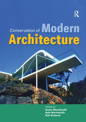Conservation of Modern Architecture book cover