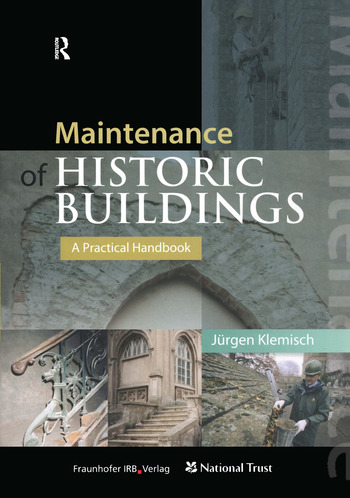 Maintenance of Historic Buildings: A Practical Handbook book cover