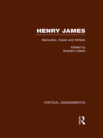 Henry James Critical Assessments book cover