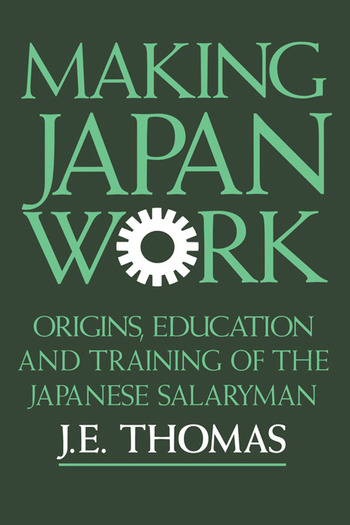 Making Japan Work book cover