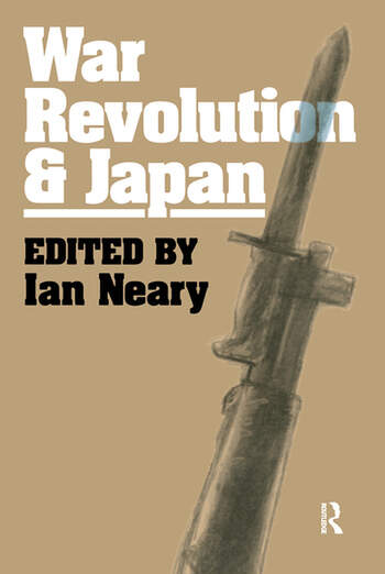 War, Revolution and Japan book cover