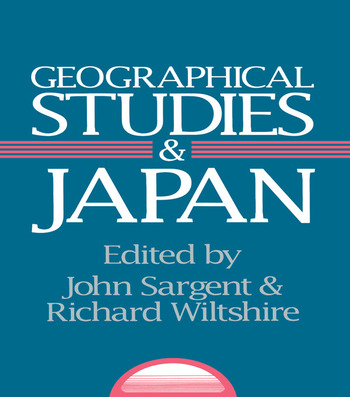 Geographical Studies and Japan book cover