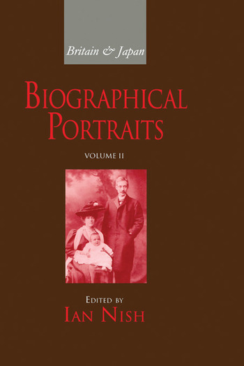Britain and Japan Vol II Biographical Portraits book cover