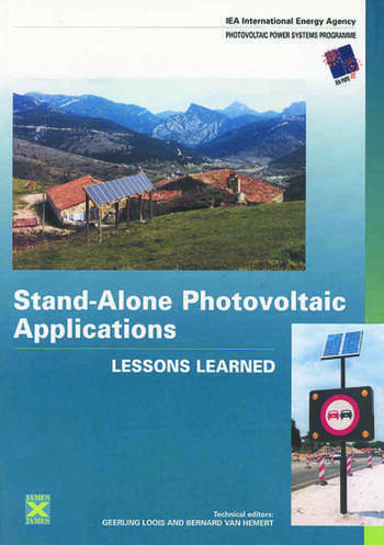 Stand-Alone Photovoltaic Applications Lessons Learned book cover