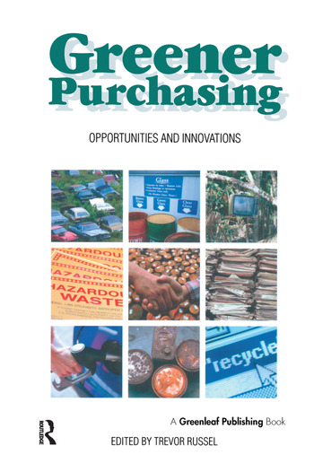 Greener Purchasing Opportunities and Innovations book cover