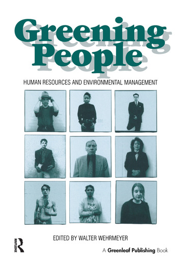 Greening People Human Resources and Environmental Management book cover