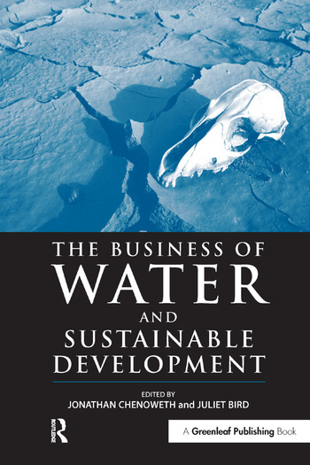 The Business of Water and Sustainable Development book cover