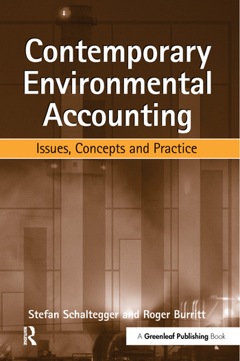 Contemporary Environmental Accounting Issues, Concepts and Practice book cover