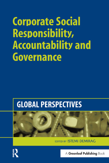 Corporate Social Responsibility, Accountability and Governance Global Perspectives book cover