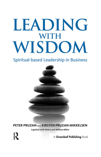 Leading with Wisdom Spiritual-based Leadership in Business book cover