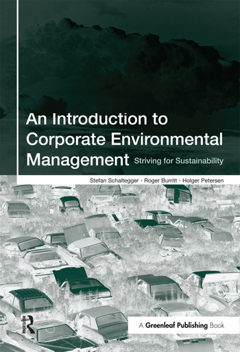 An Introduction to Corporate Environmental Management Striving for Sustainability book cover