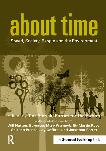 About Time Speed, Society, People and the Environment book cover