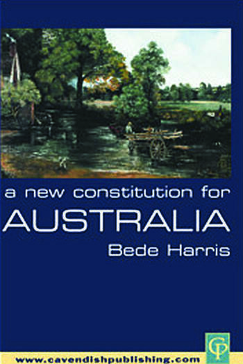 A New Constitution for Australia book cover