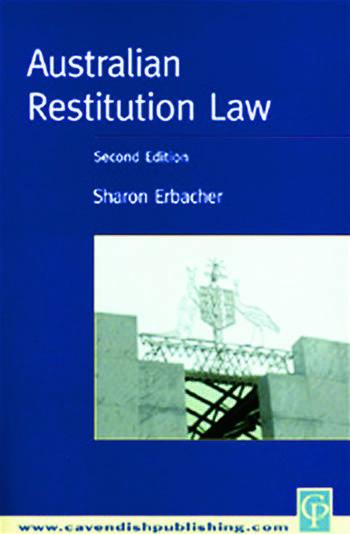Australian Restitution Law book cover