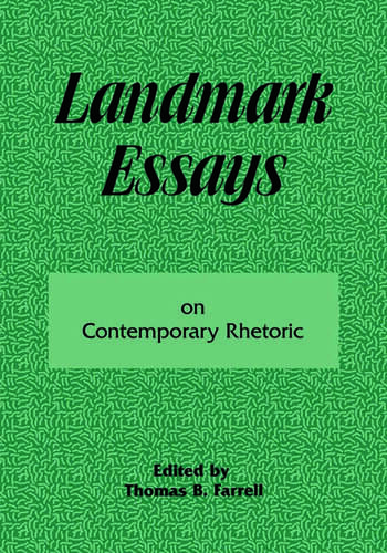 Landmark Essays on Contemporary Rhetoric Volume 15 book cover