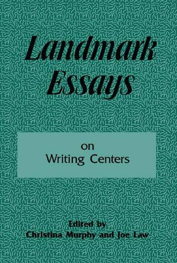 Landmark Essays on Writing Centers Volume 9 book cover