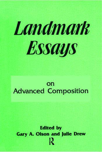 Landmark Essays on Advanced Composition Volume 10 book cover