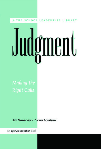 Judgement book cover