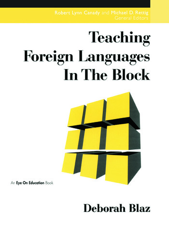 Teaching Foreign Languages in the Block book cover