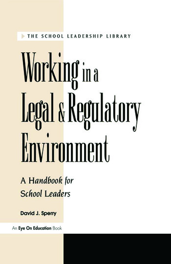 Working in a Legal & Regulatory Environment book cover