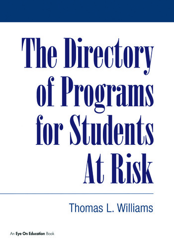 Directory of Programs for Students at Risk book cover