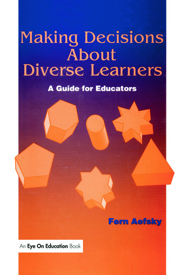 Making Decisions About Diverse Learners book cover
