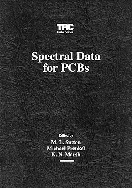 Spectral Data for PCBs book cover