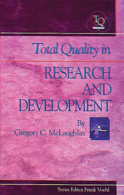 Total Quality in Research and Development book cover
