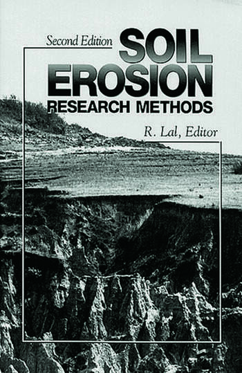 Soil Erosion Research Methods book cover