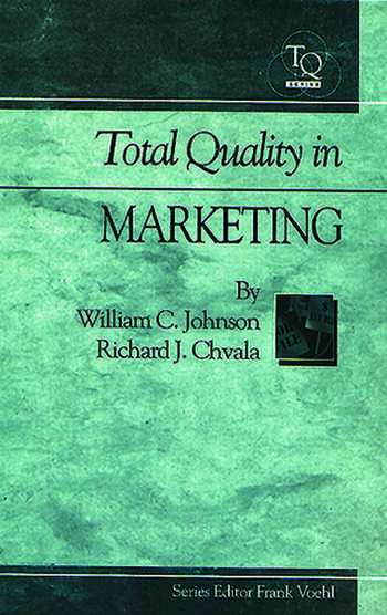 Total Quality in Marketing book cover