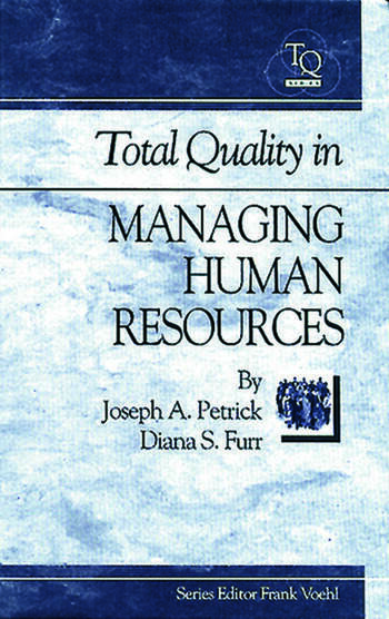 Total Quality in Managing Human Resources book cover