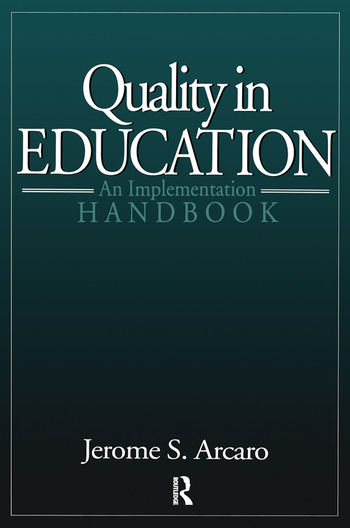 Quality in Education An Implementation Handbook book cover