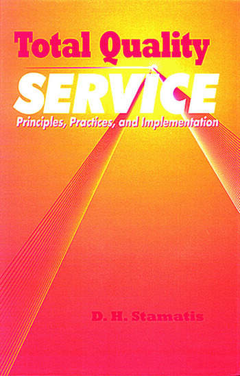 Total Quality Service Principles, Practices, and Implementation book cover