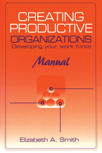 Creating Productive Organizations Developing Your Work Force book cover