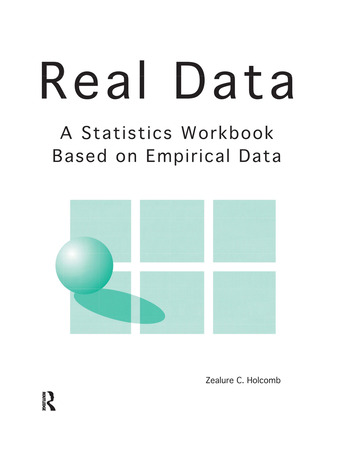 Real Data A Statistics Workbook Based on Empirical Data book cover