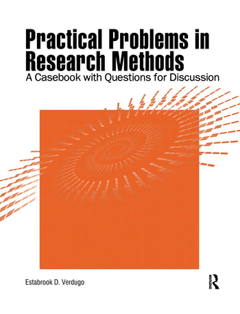 Practical Problems in Research Methods A Casebook with Questions for Discussion book cover