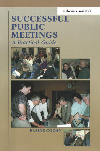 Successful Public Meetings, 2nd ed. A Practical Guide book cover