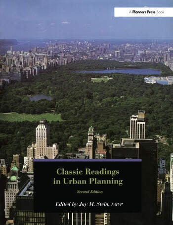 Classic Readings in Urban Planning book cover