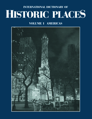 The Americas International Dictionary of Historic Places book cover