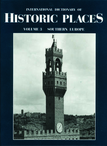 Southern Europe International Dictionary of Historic Places book cover