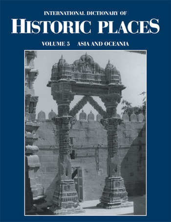 Asia and Oceania International Dictionary of Historic Places book cover