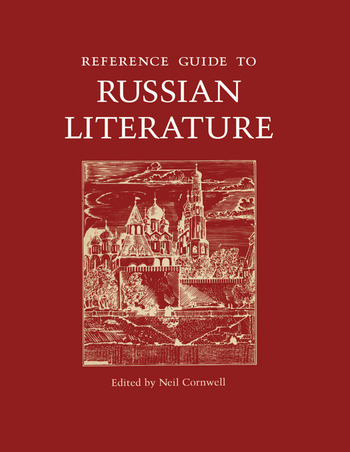 Reference Guide to Russian Literature book cover