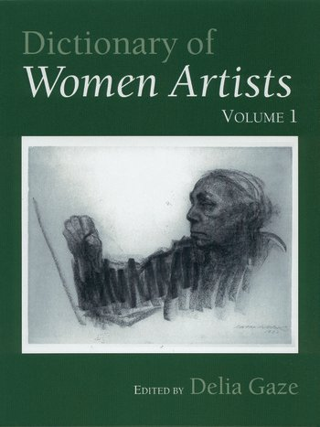 Dictionary of Women Artists book cover