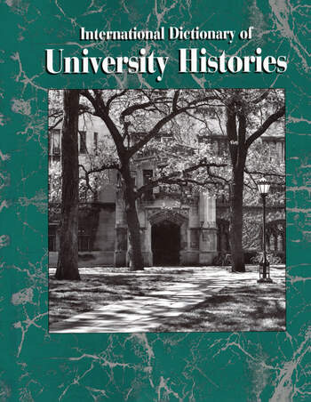 International Dictionary of University Histories book cover