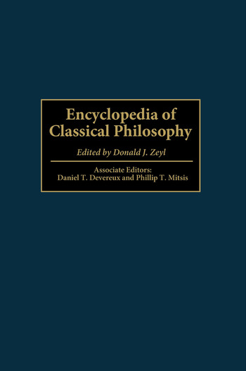Encyclopedia of Classical Philosophy book cover