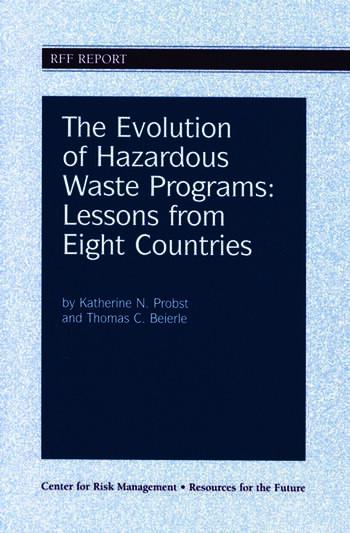 The Evolution of Hazardous Waste Programs book cover