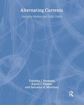 Alternating Currents Electricity Markets and Public Policy book cover