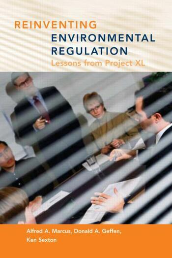 Reinventing Environmental Regulation Lessons from Project XL book cover