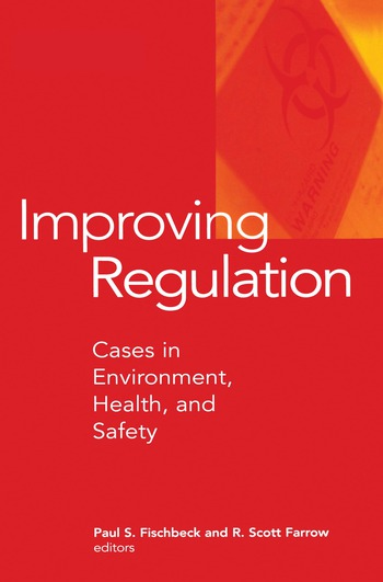 Improving Regulation Cases in Environment, Health, and Safety book cover