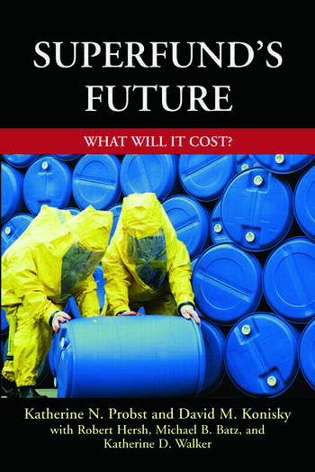 Superfund's Future What Will It Cost book cover